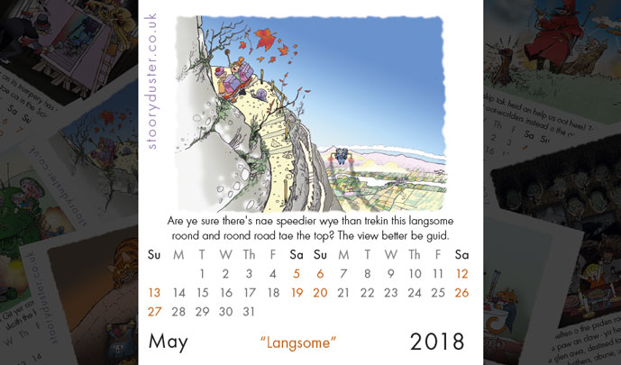 Scottish Words May 2018 - 'Langsome'