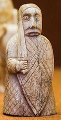 Berserker of the Lewis Chessmen.